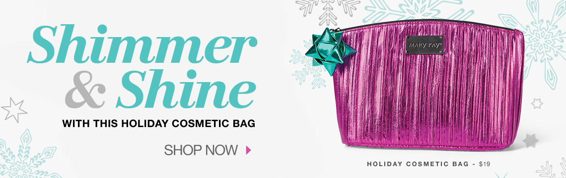 Shimmer & Shine with this holiday cosmetic bag - Shop Now