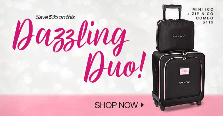 Dazzling Duo! Save $35 on this. Mini ICC + Zip n Go Combo $119 - Shop Now