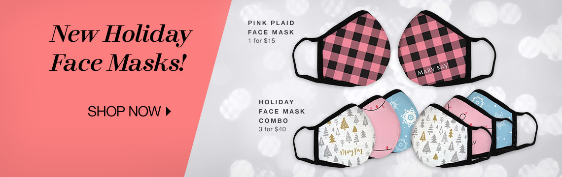 New Holiday Face Masks! 1 for $15 3 for $40 - Shop Now