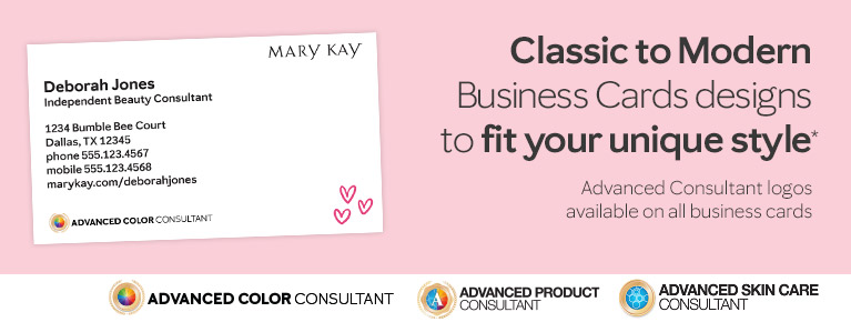 Advanced Color Consultant - Now Avaliable on all business cards