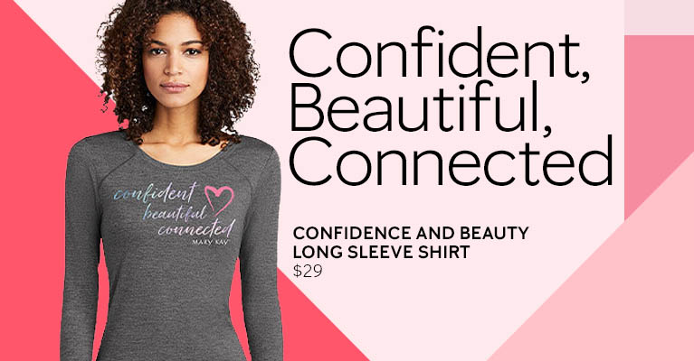 Confidence and Beauty Long Sleeve shirt - Shop Now