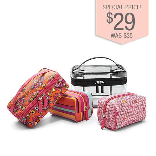 4 in 1 Cosmetic Bag Collection