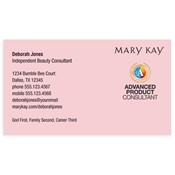 Advanced Product Consultant Business Card, Pink