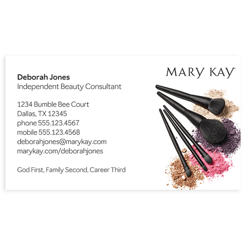 Brushes Magnet Business Cards