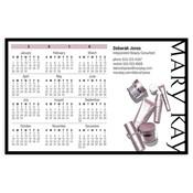 Calendario magnético con productos para el cuidado de la piel