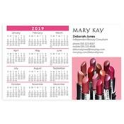 Calendario magnético con colores labiales