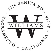 Williams Custom Stamp