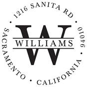 Sello personalizado Williams