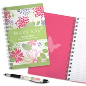 Floral Garden Journal & Pen Combo, Personalized