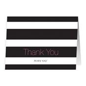 Notas de agradecimiento con líneas - No personalizadas
