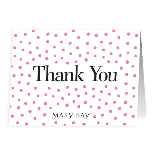 Dots Thank You Notes - Non Personalized