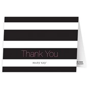 Stripes Thank You Notes - Personalized