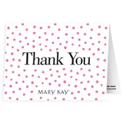 Dots Thank You Notes - Personalized