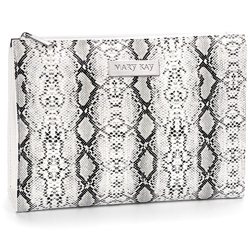 Limited Edition Faux Python Cosmetic Bag