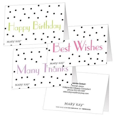 All Occasion Dots Folded Gift Tags