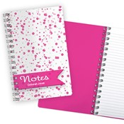 Bubbles Pink Notebook