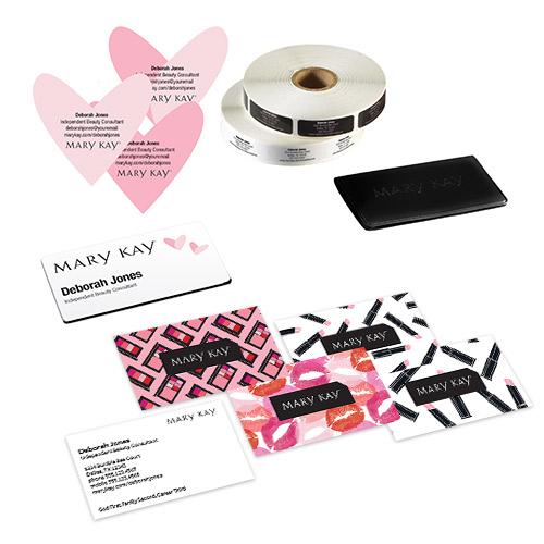 Juego Graphic Splash para armar tu negocio, con sellos con forma de corazón