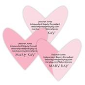 Sellos para embalaje con diseño de corazón, personalizados