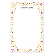Confetti Dots Large Notepad