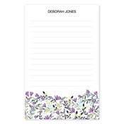 Colorful Garden Large Notepad