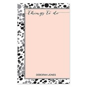 Things To Do Grey Large Notepad
