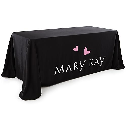Mary Kay Logo Black Table Cloth