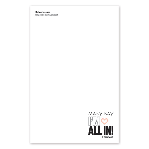 All In Note Pads - Personalized