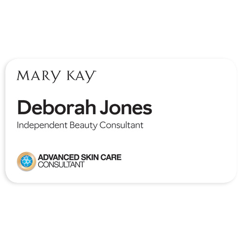 Advanced Skin Care Consultant Name Tag