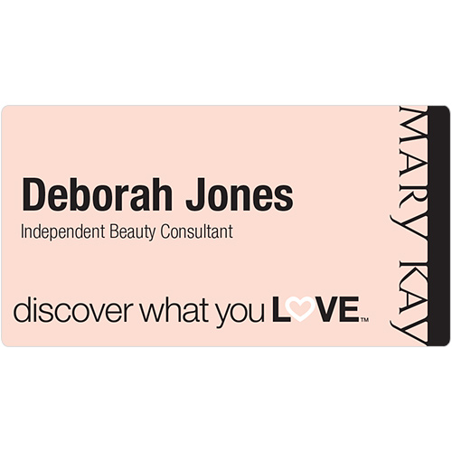 Discover What You Love Pink Name Tag