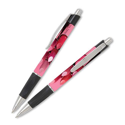 Bolígrafos con imagen de colores labiales, no personalizados