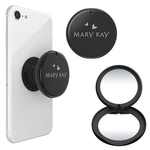 Espejo plegable con logotipo de Mary Kay