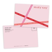 Postales rosadas personalizadas