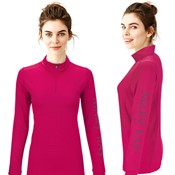 Mary Kay Quarter Zip Pink Pullover