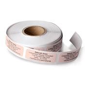 Etiquetas para pedidos de reposición de productos. rosado claro