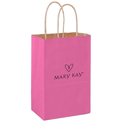 Bolsas de compras de papel, Everyday, pequeñas, rosadas