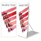 Cartel de pie para eventos, colores labiales, no personalizado