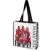 Bolsas de compras con lápices labiales