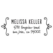 Fun Frame Address Stamp