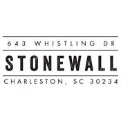 Sello de dirección Stonewall