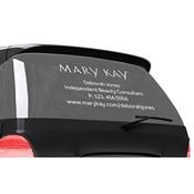 Calcomanía para automóvil con letras de vinilo