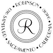 Robinson Custom Stamp