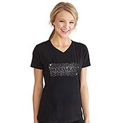Camiseta Splash con estrás